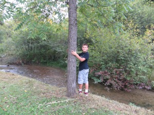 Carson along the winding bank of the waters. He was looking for artifacts.