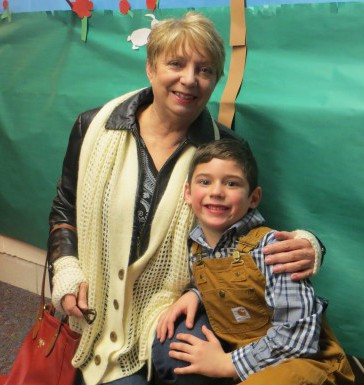 Fischer stars in 1st grade school play